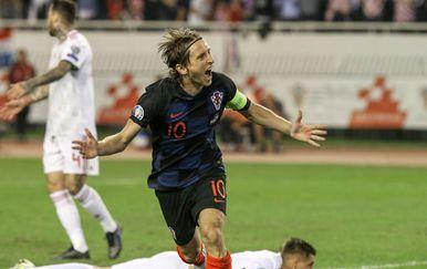 Luka Modrić (Foto:Ivo Cagalj/PIXSELL)