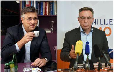 Andrej Plenković i MIlorad Batinić (Foto: Pixell)