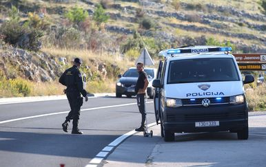 U nesreći kod Šibenika poginuo motociklist (Foto: Dusko Jaramaz/PIXSELL) - 4