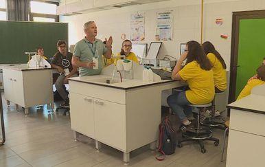 Učenici u Centru za izvrsnost (Foto: Dnevnik.hr) - 2