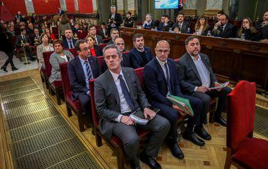 Suđenje katalonskim separatistima (Foto: AFP)