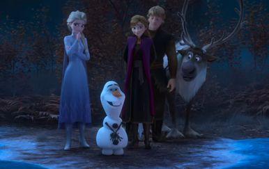 Prizor iz animiranog filma \'Snježno kraljevstvo 2\' koji stiže u kina 22. studenog