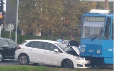 Sudar na Žitnjaku u Zagrebu (Foto: Dnevnik.hr)