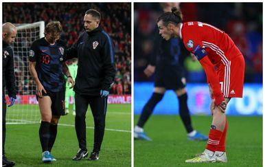 Luka Modrić i Gareth Bale (Foto: James Wilson/Press Association/PIXSELL/AFP)