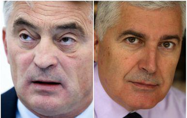Željko Komšić i Dragan Čović (Foto: Pixell)