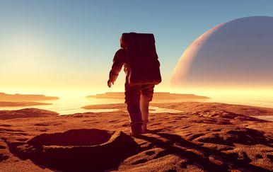 Astronaut na nepoznatom planetu (Ilustracija: Getty)
