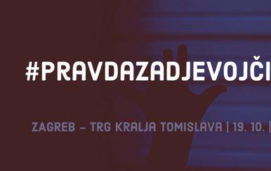 19. listopada u Zagrebu se održava prosvjed Pravda za djevojčice