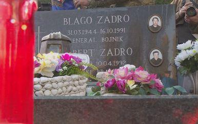 Obilježavanje godišnjice smrti Blage Zadre (Foto: Dnevnik.hr) - 1