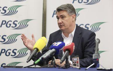 Zoran Milanović u Rijeci (Foto: Nel Pavletić/PIXSELL)