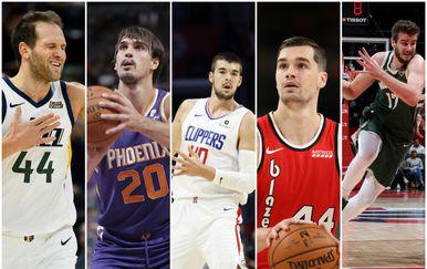 Hrvati u NBA sezoni 2019./2020. (Foto: AFP/GOL.hr)