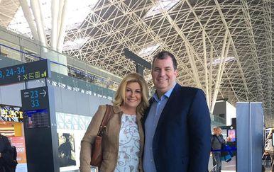 Predsjednica Kolinda Grabar Kitarović i Jakov Kitarović (Foto: Facebook)