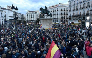 Šesti dan prosvjeda u Španjolskoj (Foto: AFP) - 4