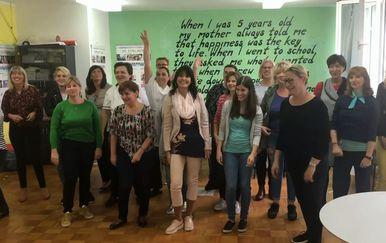 Učitelji Osnovne škole Vežica u Rijeci (Foto: Dnevnik.hr)