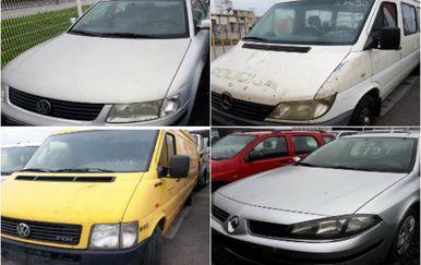 Javna dražba automobila ovog vikenda (Foto: Trcz.hr)
