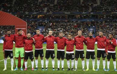 Reprezentativci Albanije (Foto: AFP)