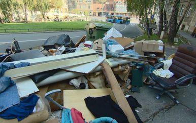 Otpad u Zagrebu (Foto: Dnevnik.hr) - 1