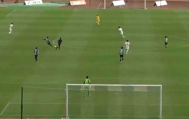 Gol iz vlastite polovice (Foto: Screenshot)