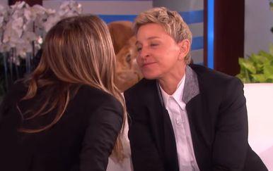 Jennifer Aniston i Ellen DeGeneres (Foto: Youtube Screenshot)
