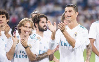 Luka Modrić i Cristiano Ronaldo (Foto © nordphoto / Borja B.Hojas) /PIXSELL)