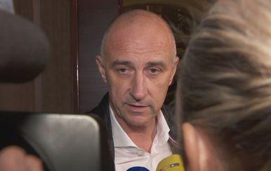 Ivan Vrdoljak pred medijima (Foto: Dnevnik.hr)