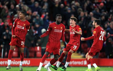 Liverpool slavi (Foto: Mike Egerton/Press Association/PIXSELL)