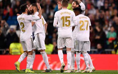 Real Madrid slavi (Foto: AFP)