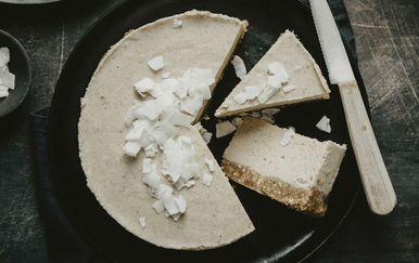 Ilustracija za veganski cheesecake