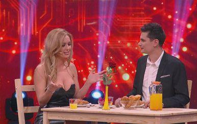 Lidija Bačić za stolom (Foto: Dnevnik.hr)