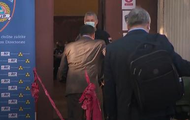 Ministar Vili Beroš zaboravio staviti masku