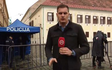 Dino Goleš na Markovom trgu