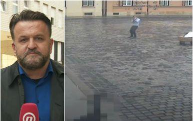 Reporter Dnevnika Nove TV Andrija Jarak o snimci napada na policajce ispred Vlade