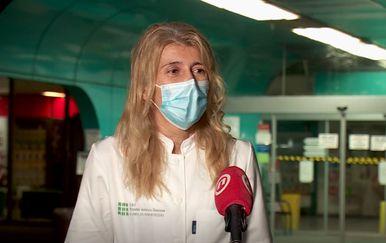 Marija Bilić, anesteziologinja Kliničke bolnice Dubrava