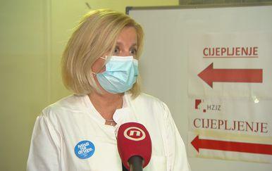 Dijana Mayer, epidemiologinja HZJZ-a