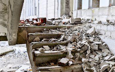 Šteta nakon potresa, ilustracija