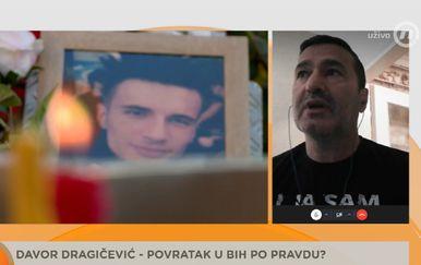 Davor Dragičević, otac ubijenog Davida