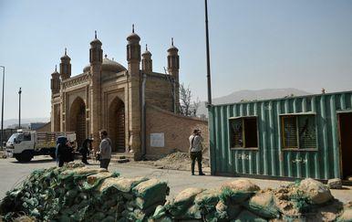 Džamija u Afganistanu, ilustracija