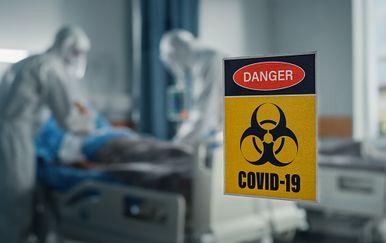 Koronavirus, ilustracija