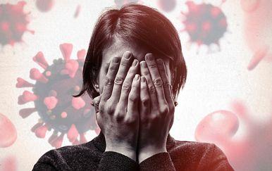 Sve više osoba koje pate od anksioznosti i depresije tijekom pandemije