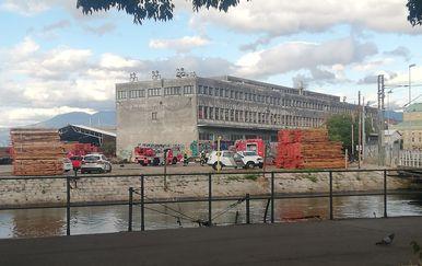 Požar u zgradi uprave projekta Rijeka EPK 2020 - 4