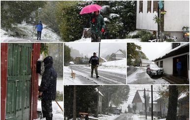 Snijeg u Begovom Razdolju