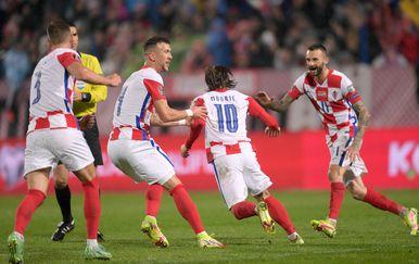 Modrić strijelac protiv Slovaka