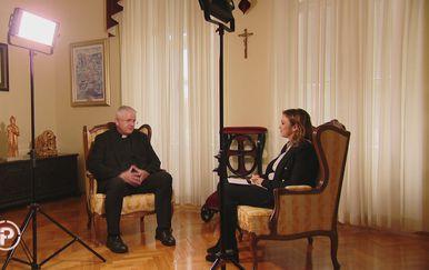 Nadbiskup mons. Mate Uzinić i Ana Malbaša - 1