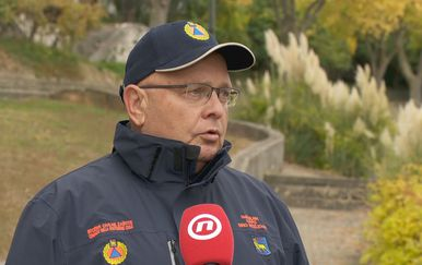Dino Kozlevac, načelnik istarskog stožera