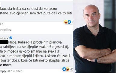 Komentar Gordana Lauca