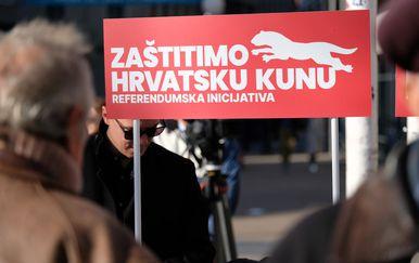Referendumska inicijativa Zaštitimo hrvatsku kunu