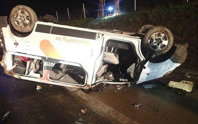 Prometna nesreća u Sloveniji (Foto: GRS Kranj)