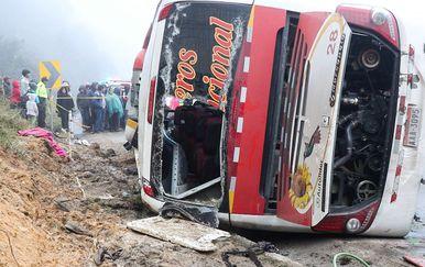 Ilustracija autobusne nesreće (Foto: AFP)