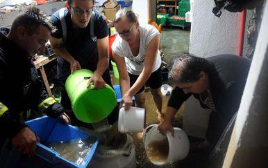 Poplava u Velikoj (Foto: Požega.eu)