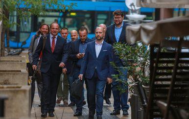 Suspendirani SDP-ovci (Foto: Matija Habljak/PIXSELL)