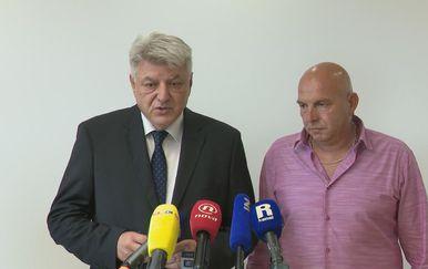 Zlatko Komadina i Predrag Knežević (Foto: Dnevnik.hr)